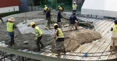 งานวิจัย composit steel deck concrete floor system